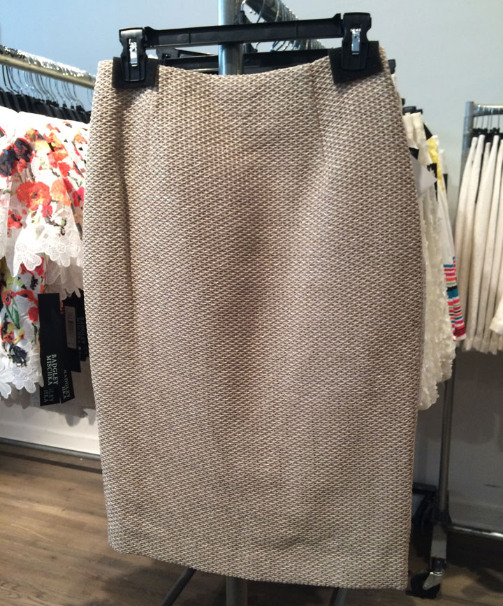 Tweed skirts for $115