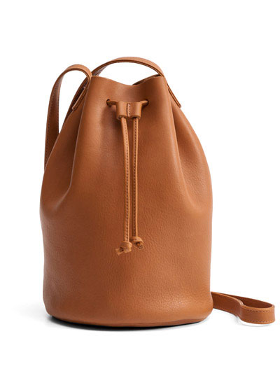 The leather drawstring purse: $79 (orig. $140)