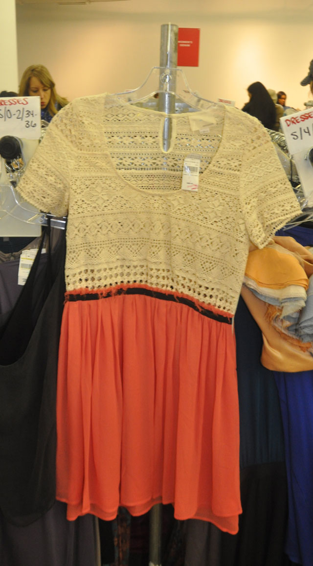 Band of Outsiders Crochet Dress ($149, orig. $495)