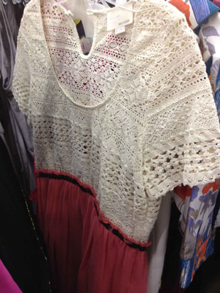Crochet and Cherry Band of Outsiders Summer Dress in Size 3 ($199)