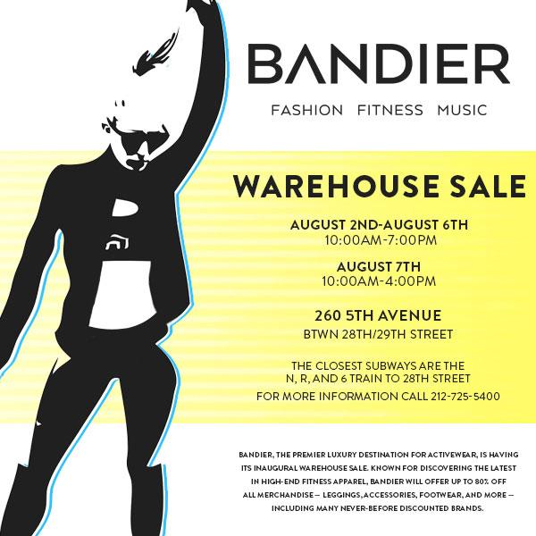 Bandier Warehouse Sale
