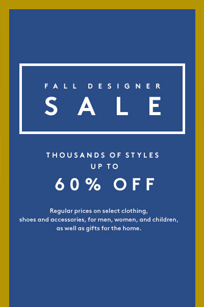 Barneys Fall Designer Sale
