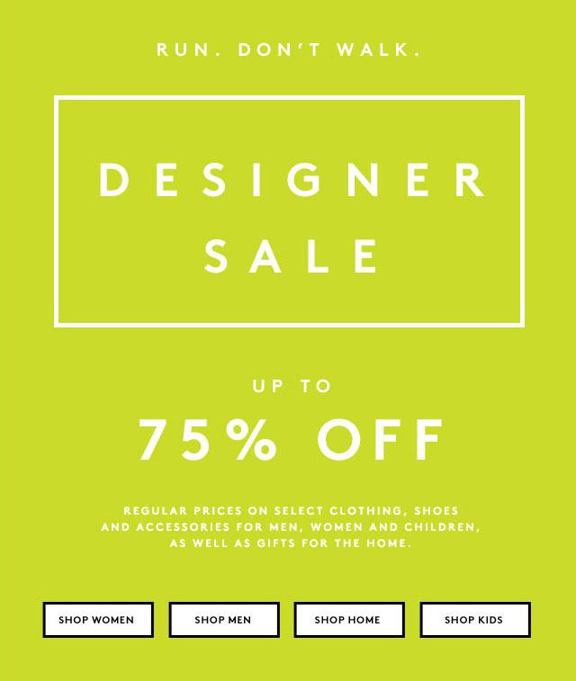 Barneys Spring Designer Retail Sale