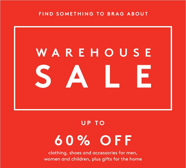 Barneys Warehouse Sale