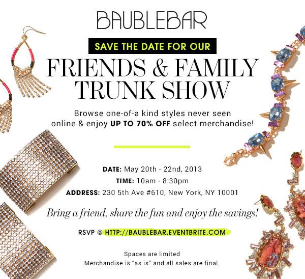 Baublebar Friends & Family Sale