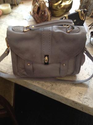 Be & D Brady Bag in Sand ($375, orig. $998)