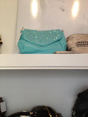 Be & D Nigarbo S Porio Bag in Aqua ($250, orig. $975)
