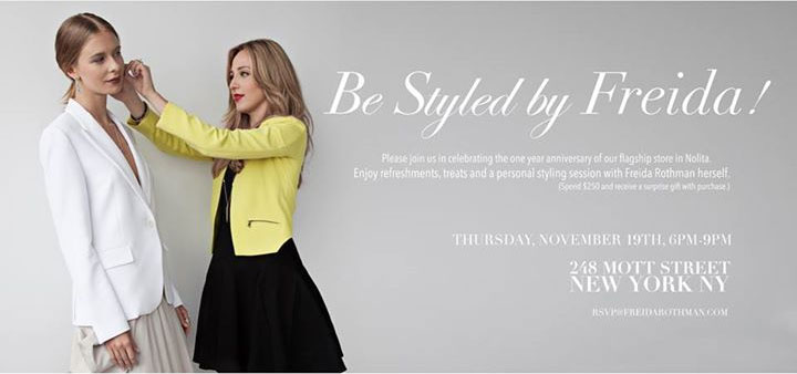 Be Styled by Freida Rothman