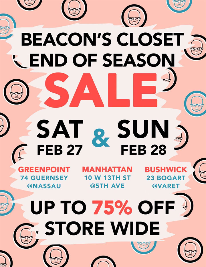 Beacon's Closet End of Season Sale