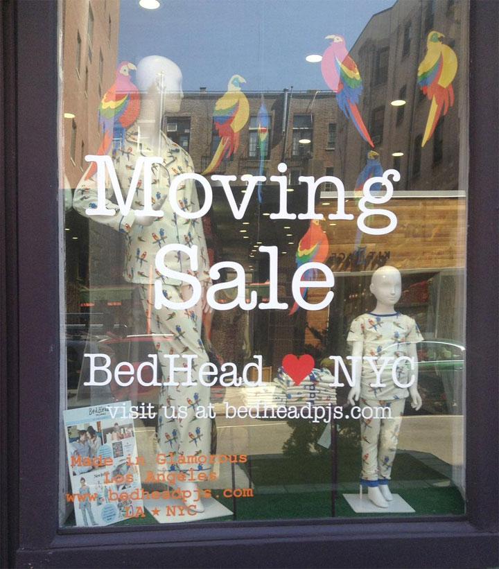 BedHead Pajamas Moving Sale