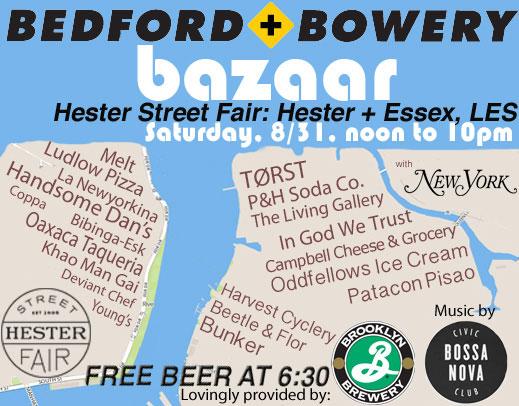 Bedford + Bowery Bazaar