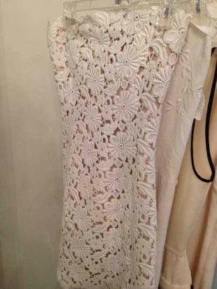 Behnaz Sarafpour Crochet Tube Dress ($175)