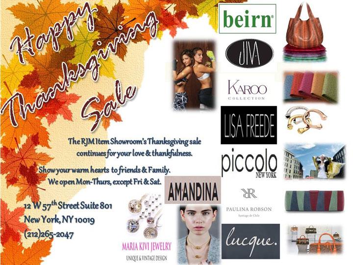 Beirn & Designers Thanksgiving Sale