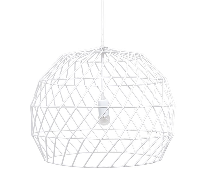 Bend Goods Pendant in White – Originally $495 now $345 at 30% off