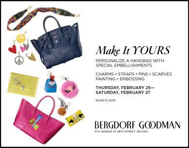 Bergdorf Goodman 'Make it Yours' Event