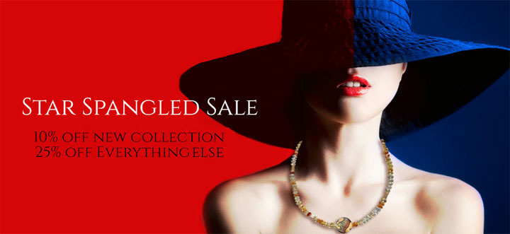 Bess Heitner Jewelry Star Spangled Sale