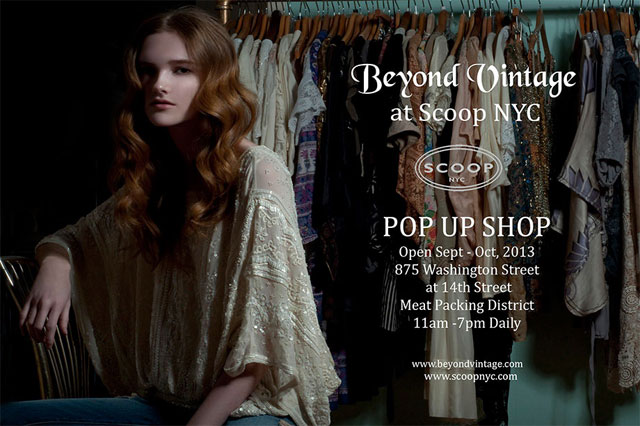 Beyond Vintage at Scoop NYC
