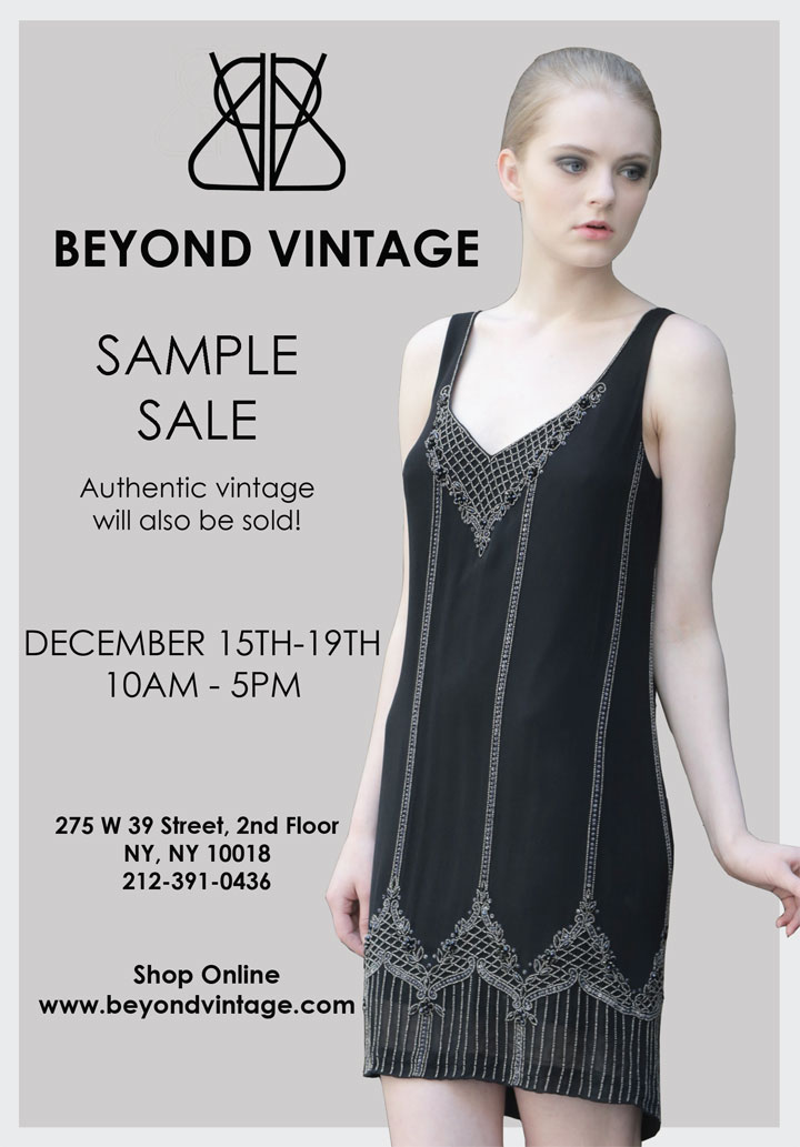 Beyond vintage new york bargains for 10 east 39th street 8th floor new york ny 10016