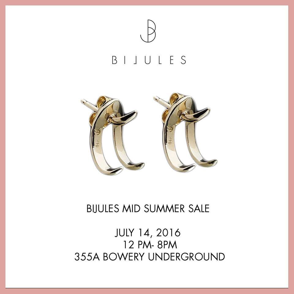 Bijules Midsummer Sample Sale
