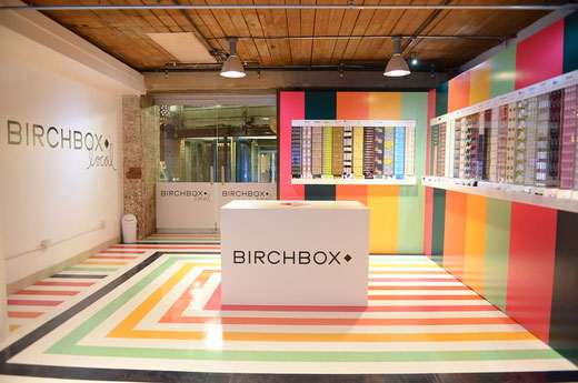 Birchbox Local Pop-up Shop