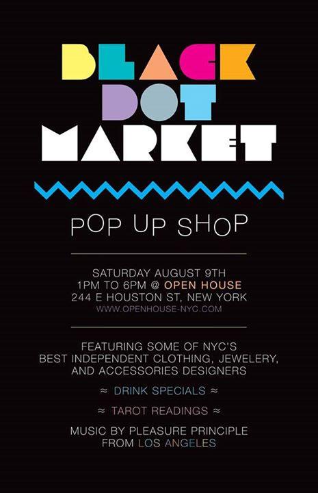 Black Dot Market Pop-up Shop