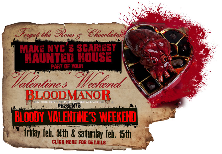 Blood Manor's Bloody Valentine's Weekend