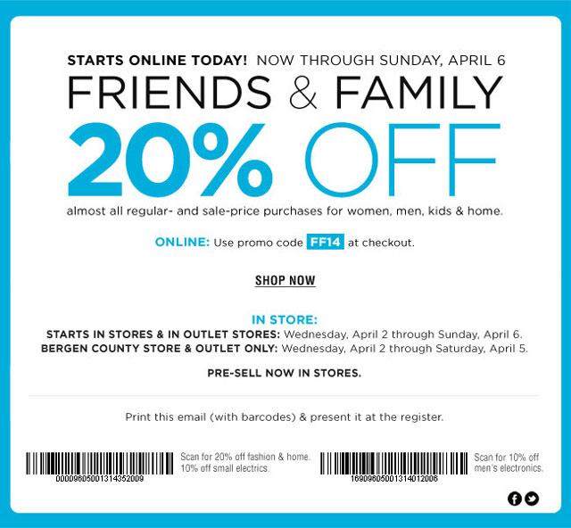 Bloomingdale's Friends & Family Sale