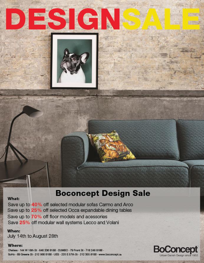 BoConcept Design Sale