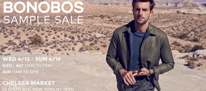 Bonobos Sample Sale