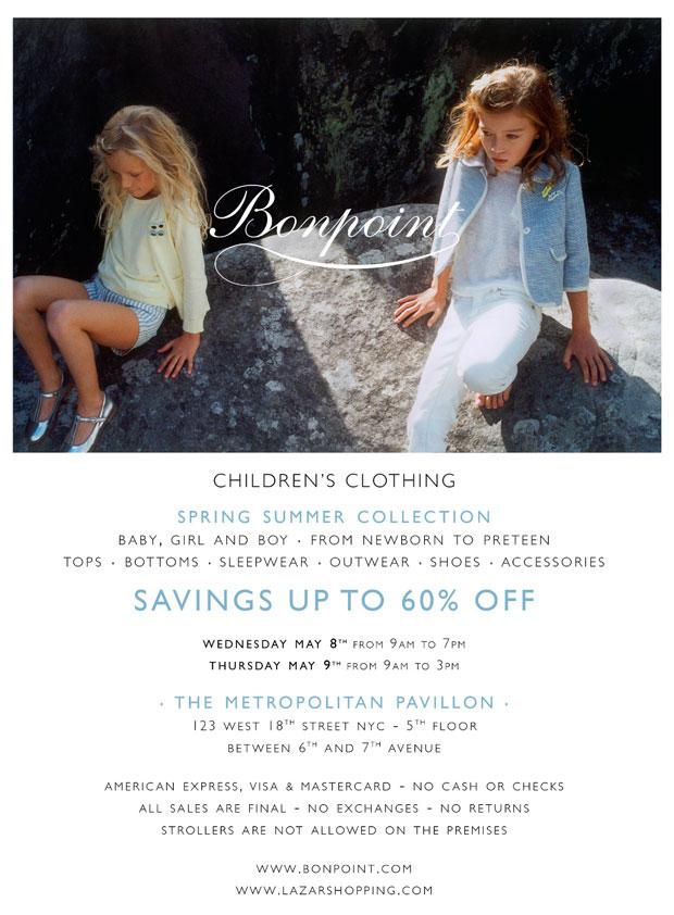 Bonpoint Spring Sample Sale