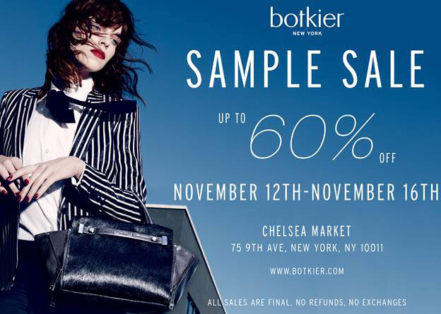Botkier New York Sample Sale