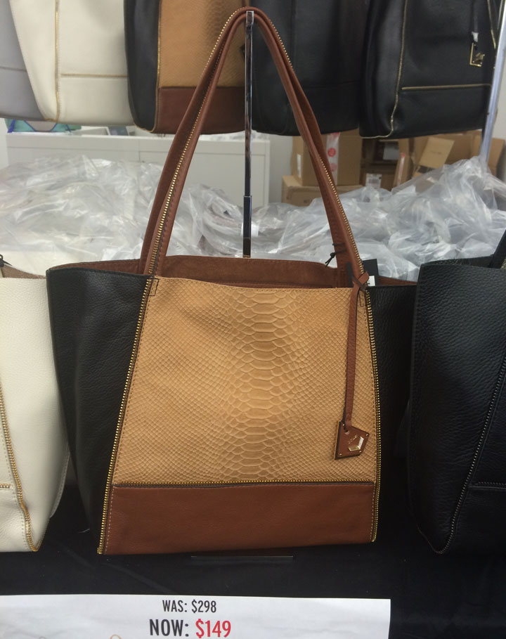 Botkier stock totes for $149