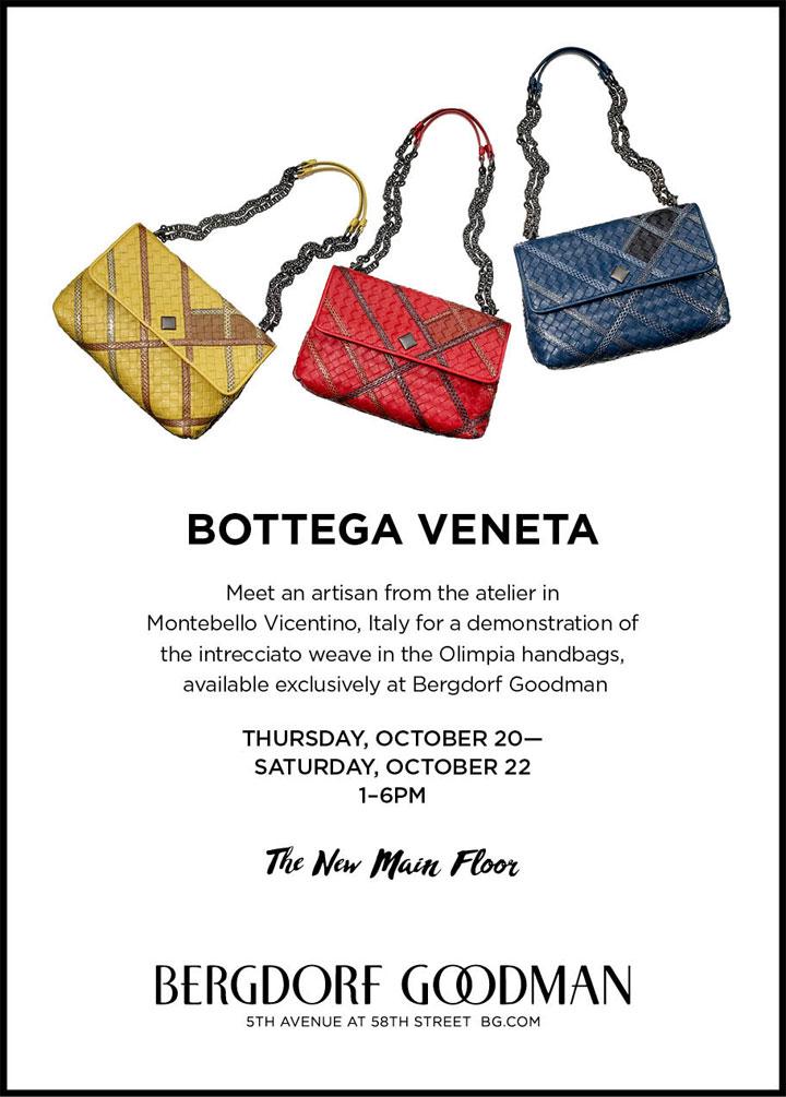 Bottega Veneta Demonstration Event
