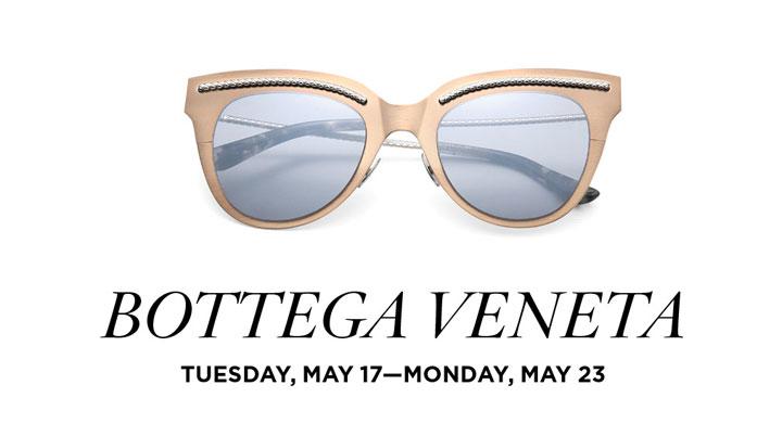 Bottega Veneta Sunglasses Trunk Show