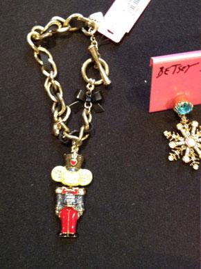 Bowtie Monkey Charm Bracelet ($25)