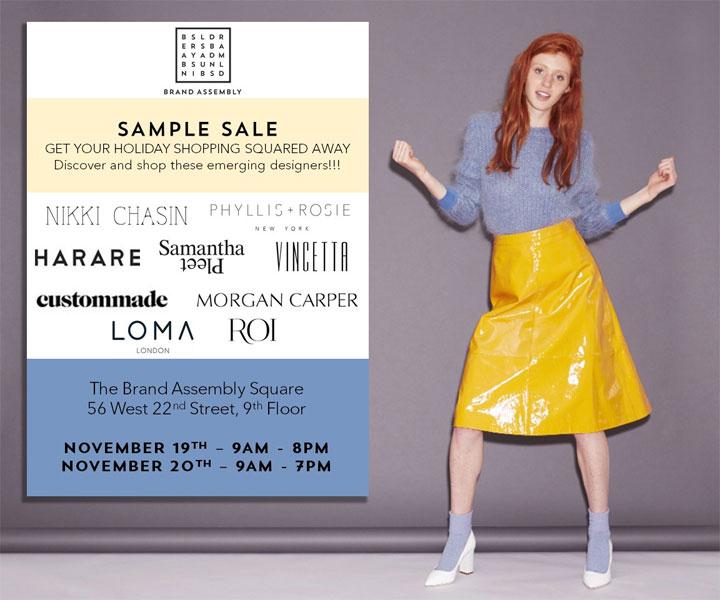 Brand Assembly Sample Sale