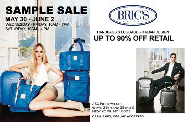 Bric's Sample Sale