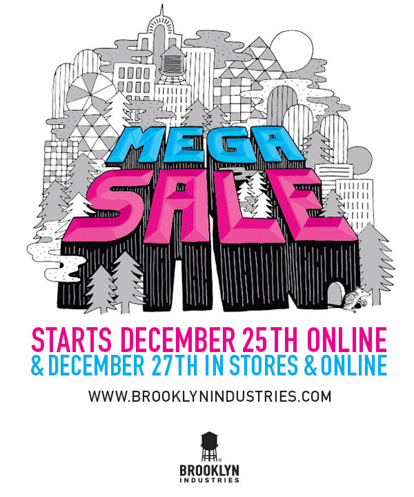 Brooklyn Industries Mega Sale
