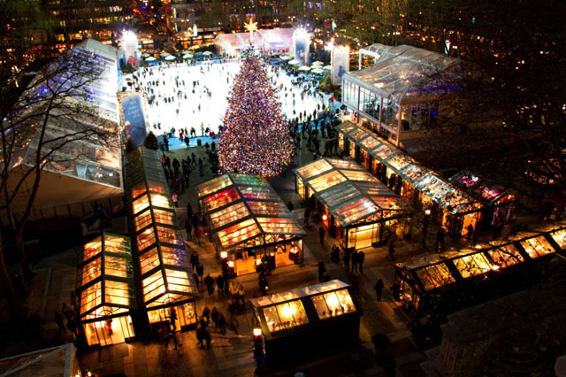 Best Outdoor Experience: The Holiday Shops at Bryant Park