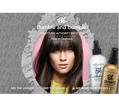 Get Styled by Bumble and bumble Pros: 11/11