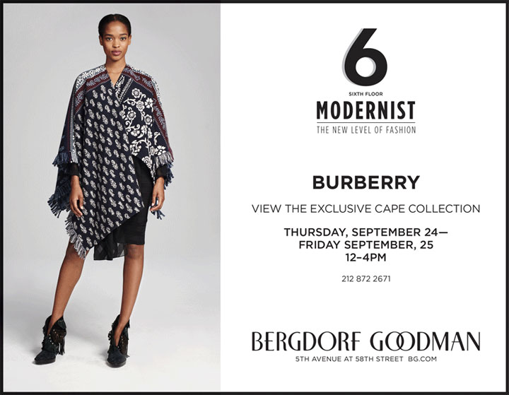 Burberry Cape Collection Trunk Show