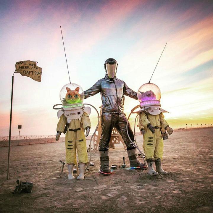 Is Burning Man the New Fashion Mash Up?