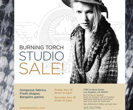 Burning Torch Studio Sale