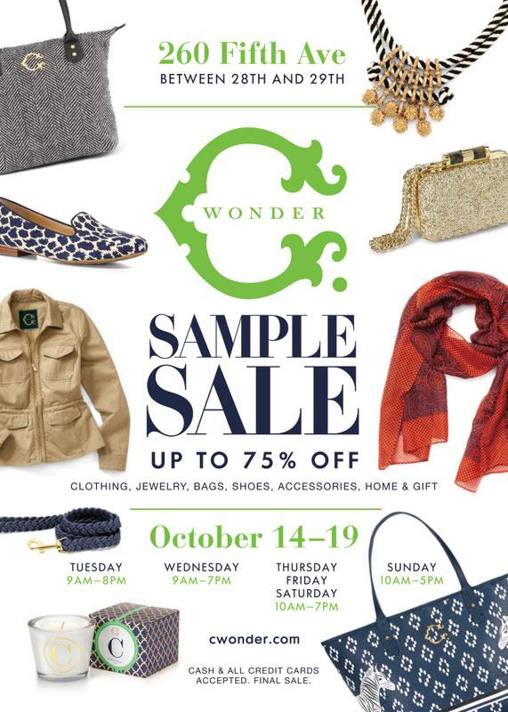 C. Wonder Sample Sale