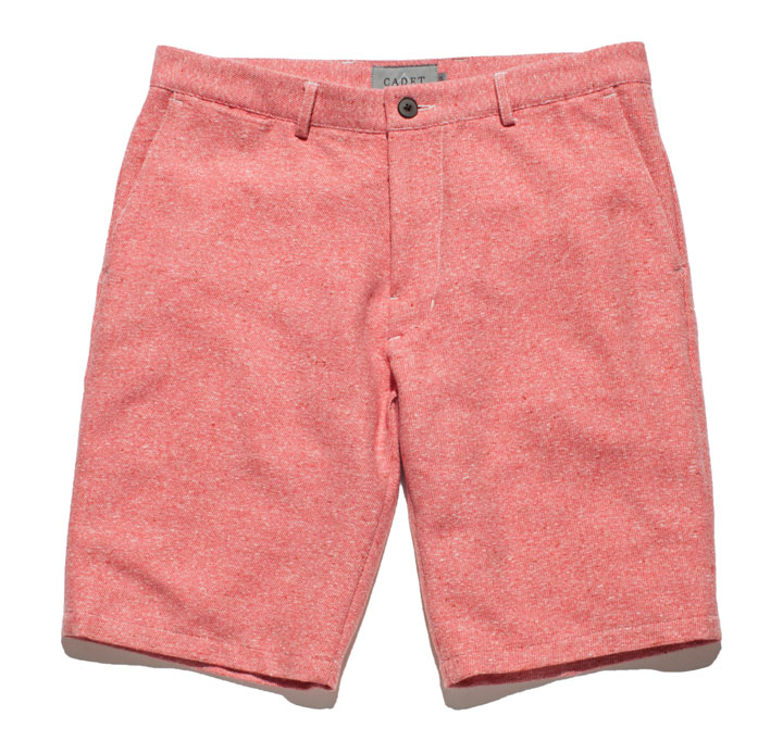Admiral Short in Heather Red: $40 (orig. $158)