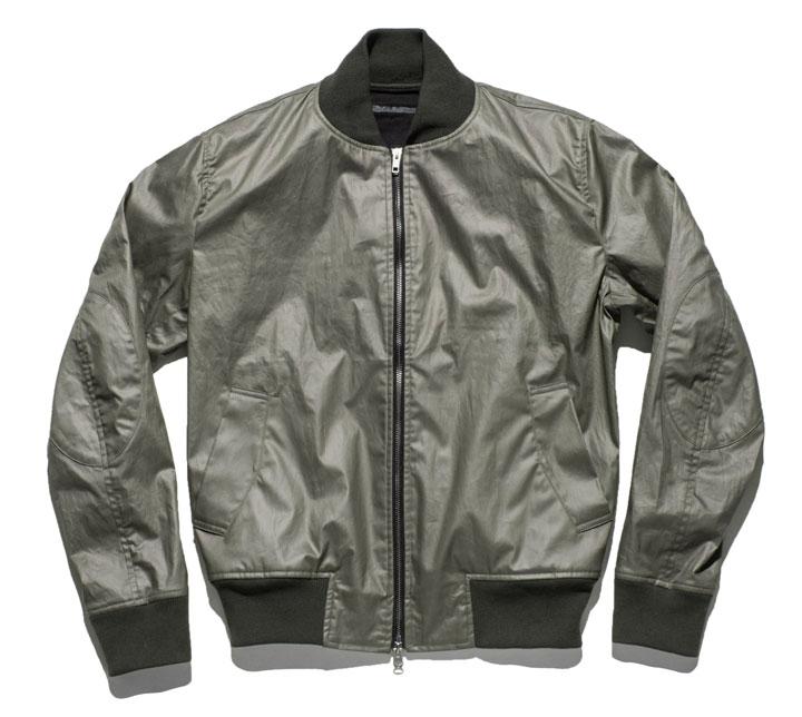 Aviator Jacket in Olive: $75 (orig. $300)