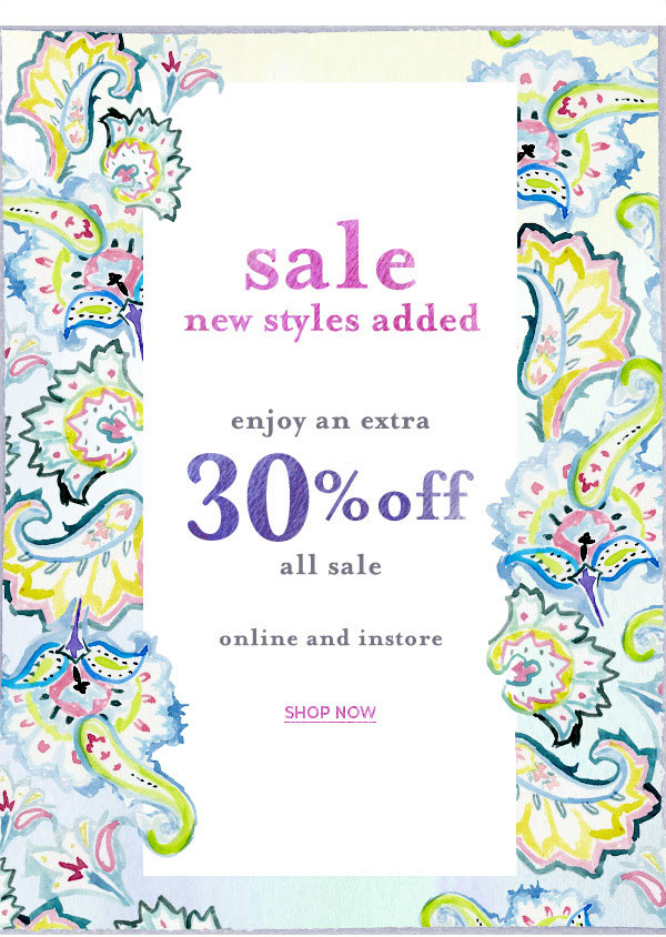 Calypso St. Barth Summer Retail Sale