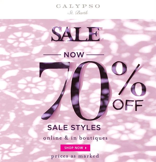Calypso St. Barth Winter Retail Sale