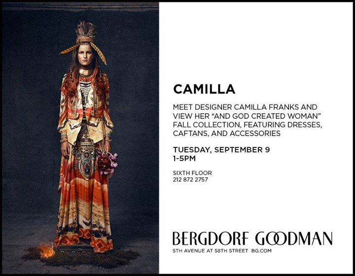 Camilla Quot And God Created Woman Quot Clothing Ny Trunk Show