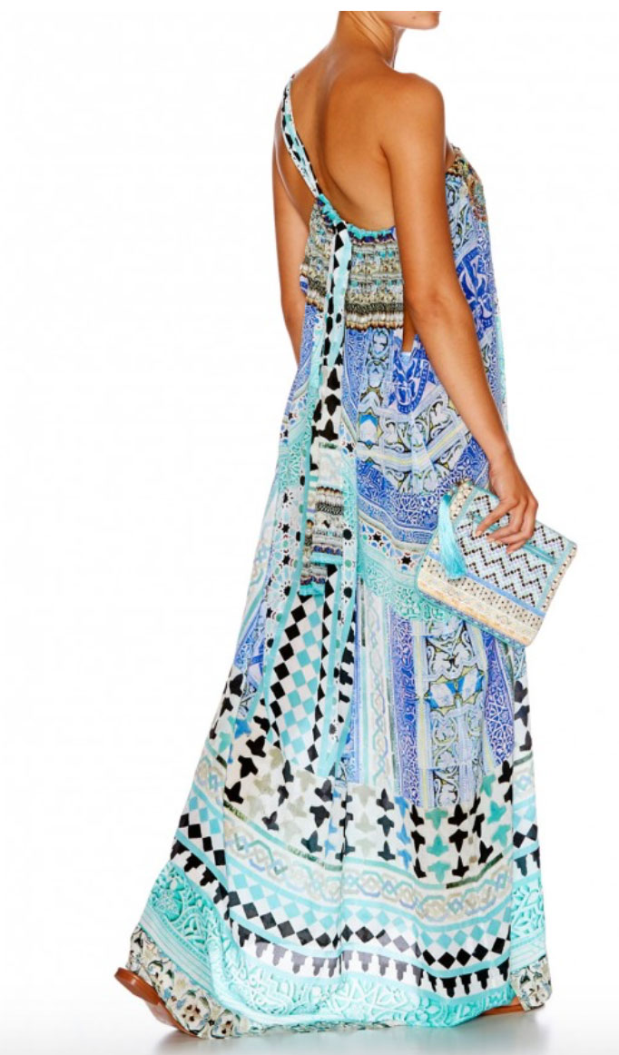 Camilla Andalusia drawstring dress: Sale price $250 (Retail price $600)